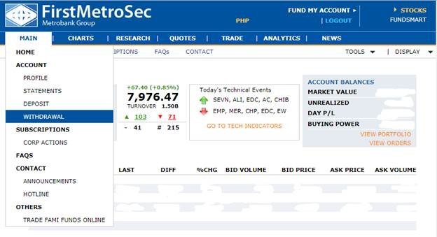 First Metro Securities - Online Stock Trading
